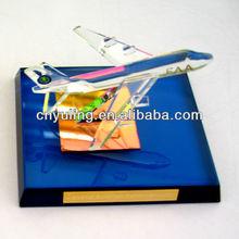 Cristal bijoux religieux articles modèle jet avion indien. jy161 moteurs pour la vente