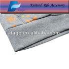 95%cotton 5%span 2x2 tube knit rib