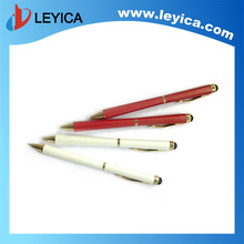 2 in 1 matel and silicon capacitive ball pen - LY-S018