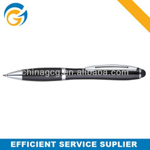 Rubber Grip Metal Twist White Color Twist Ball Pen