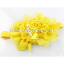 Infant Yellow flower headband
