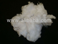 BLEACHED COTTON SHODDY FOR MEDICAL USE AND NONWOVEN USE