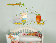 New arrival Mail from Girl wall sticker cartoon for home