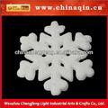 Blanco artificial de espuma de nieve para la decoración navideño