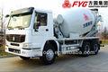 misturador concreto do caminhão dimensão