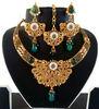 Indian polki jewellery - Imitation jewelry - Indian artificial neckalce set - tradtional jewelry