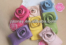Fashion rose cellphone wallet camellia cellphone wallet
