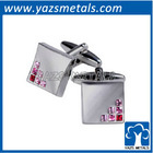 customize high quality series of diamond cuffs with person logo