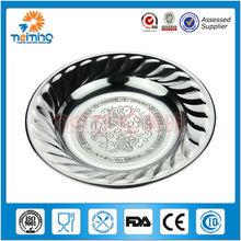 20 CM de metal em aço inoxidável pratos, Partido louça, Queijo placas