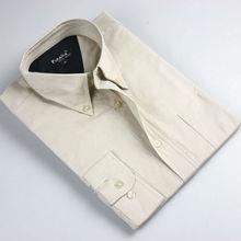 2015 men formal solid color short sleeve shirt