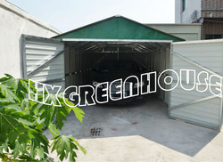 new-style metal prefab car parking canopy tent outdoor (HX81133A)