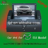 2 din car dvd gps dash for mazda 6 touch screen hd gps