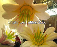 Party/event/club decorative inflatable flower with Led light