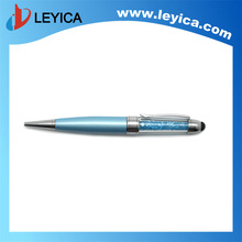 Luxury 3 in 1 Stylus USB touch ball pen present pen - LY-S036