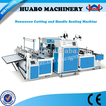 The newest Manufacturer HB Non woven bag making machine manual