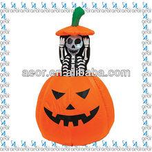 2013 hot sale inflatable halloween decoration pumpkin