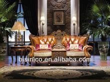 Royal palace love sofa MOQ:1 PCS (BF00-40096)