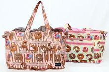 Original print design polyester foldable bag for shopping