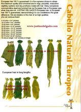 European hair and Kosher European hair