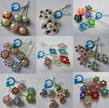 muslim shawl pin brooch crystal hijab pin fixed safety pin