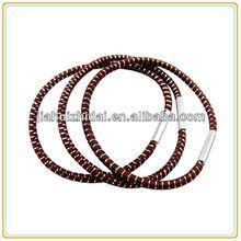Bulk elastic hair bands for women with glitter