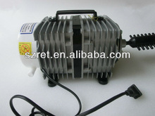 Hot Sale easy operation electromagnetic 220V 50HZ A-005 air compressor 80w 70L/min for laser engraving and cutting machine