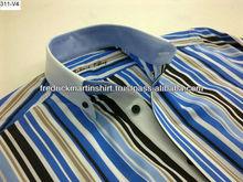 mens classic italian collar fashion shirt