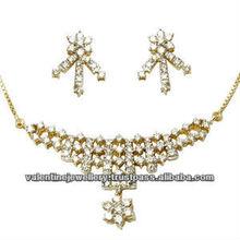 tanmaniya necklace set in diamond, diamond mangalsutra jewellery, diamond jewellery mangalsutra pattern necklace design