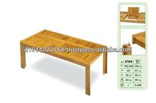 Wooden garden set