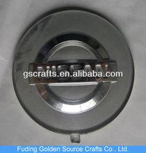 nissan silver plastic acrylic pmma car sticker logo emblem