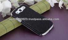 IMPRUE Christams Black Ball Design PU Case For Sumsung Galaxy S3 i9300