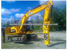 Hydraulic Hammer is a powerful percussion hammer fitted to an excavator for demolishing jobs in the work site