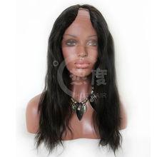 2013 New Fashion Wig 100% Brazilian human hair u part wig tangle free and no shedding