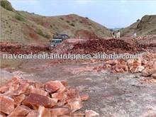 Red Lumps Crystal Himalayan Mountain Natural Rock Salt