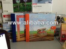 Half linen books