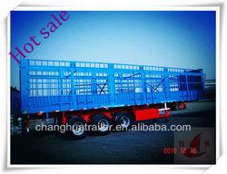 2013 3 axle new cargo box trailer