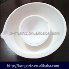 high purity quartz gold crucible for jewelry casting price