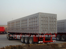 utility 3 axle box semi trailer