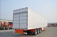utility 70T box semi trailer