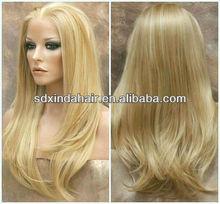 Grade AAAAA long blond hair full lace wigs