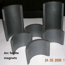 Y35 hard ferrite arc magnets