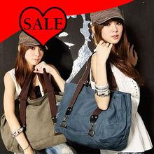 2013 summer leisure new popular casual big canvas shoulder handbags wholesale C49