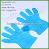 0.8g HDPE Disposable Food Processing Polyethylene Gloves