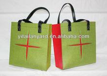 beautiful and convenient eco-friendly handmade felt bag