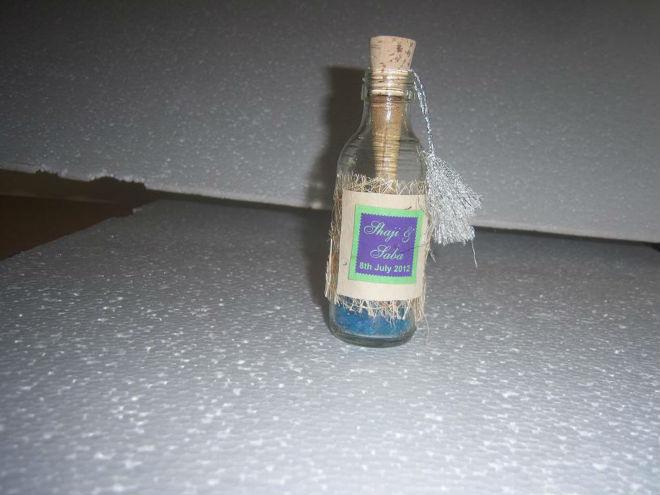 Botella de vidrio invitaciones para bodas-Suministros para boda ...