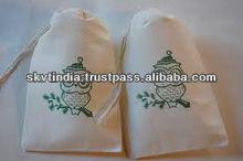 organic cotton drawstring bags