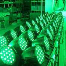 Super Bright 3w*54 ALU LED Par Stage Light 55w led par stage light(1w*36)