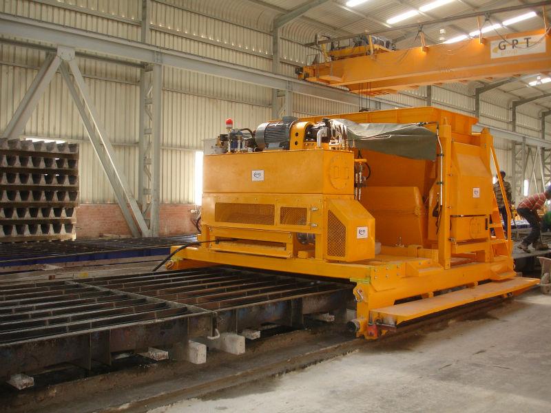 Concrete Sleeper Casting Machine