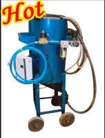 small sandblasting tank machine China manufacturer