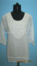 2013 Lady fashion latest lady blouse